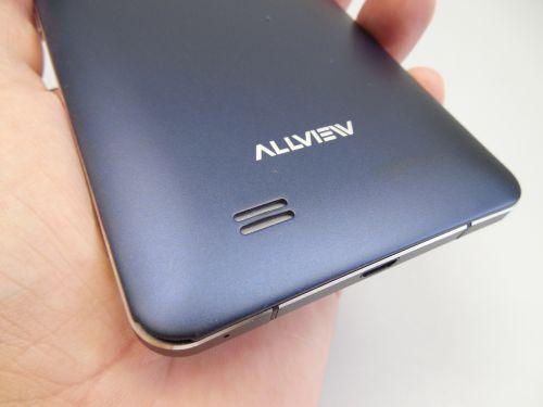 Allview P6 Qmax pe partea audio