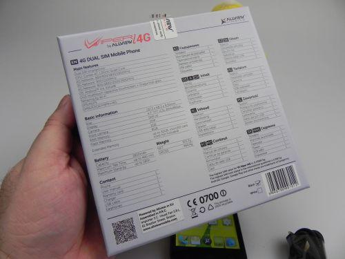 Allview V1 Viper i 4G scos din cutie