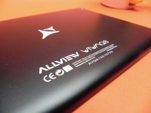 Allview Viva Q8 - partea spate