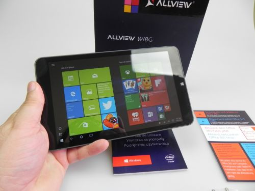 Allview Wi8G cu Windows 10