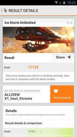 Benchmark 3DMark Allview X1 Xtreme
