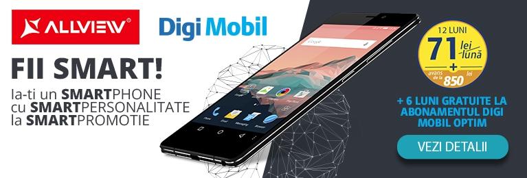 Allview X2 Soul PRO este lansat în oferta Digi Mobil; achiziția sa ne aduce 6 luni gratuite la abonament