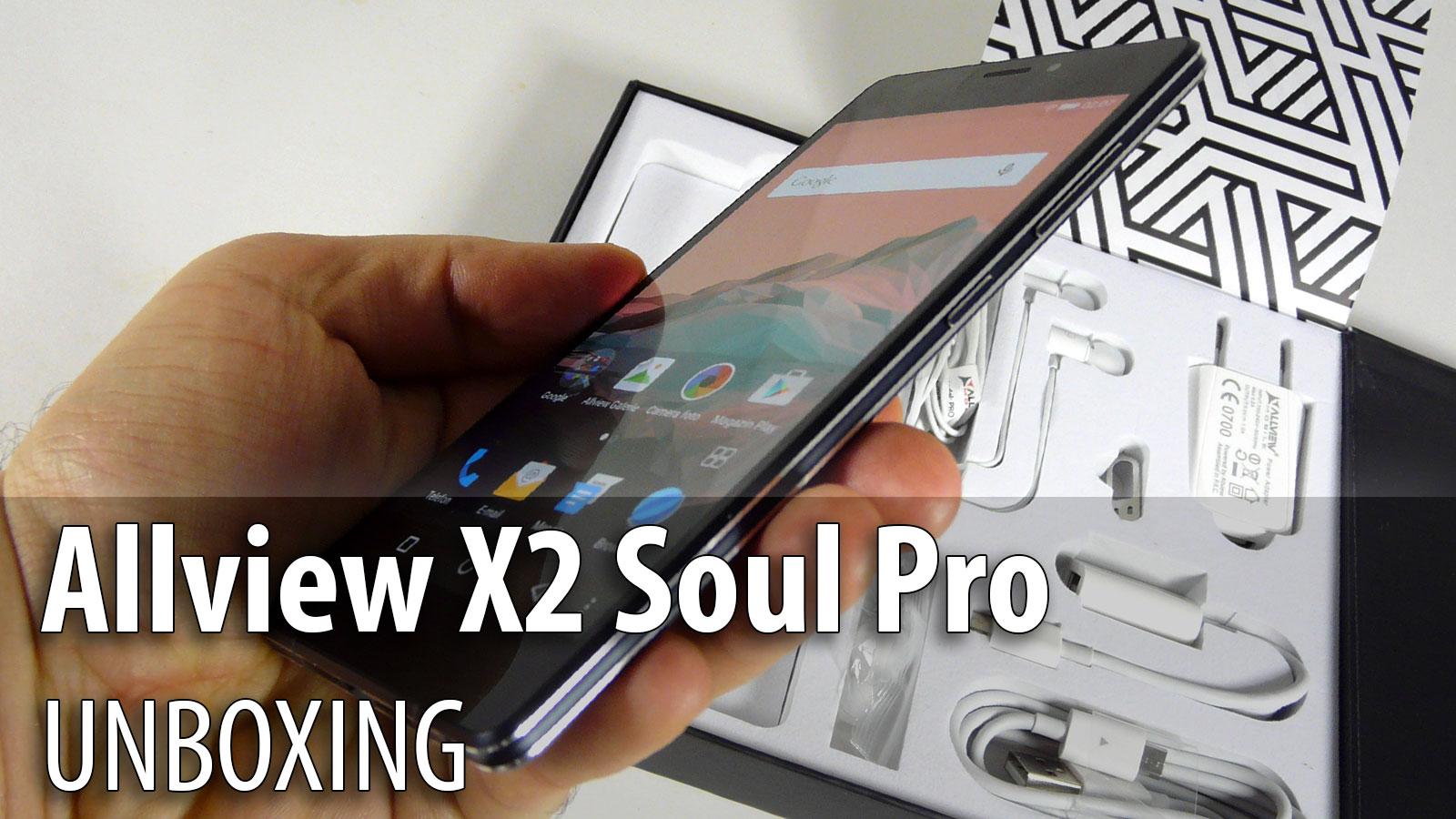 Allview X2 Soul Pro Unboxing