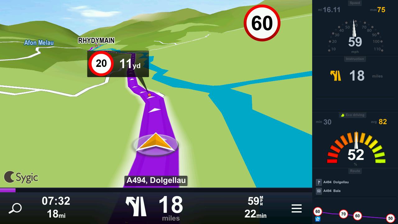 Terminalele Allview vor sosi cu aplicația navigationala Sygic preinstalata; Vine și cu navigație offline!