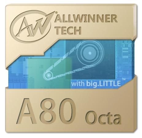 Allwinner prezintă procesorul octa core Allwinner A80 Octa