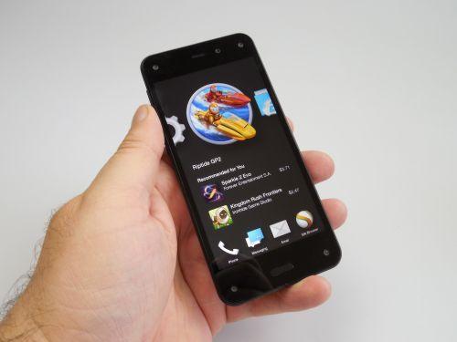 Ecranul lui Amazon Fire Phone