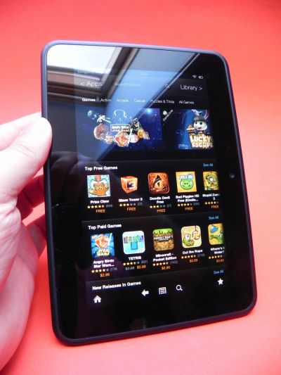 Dispay Amazon Kindle Fire HD