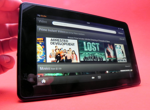 Video pe Kindle Fire