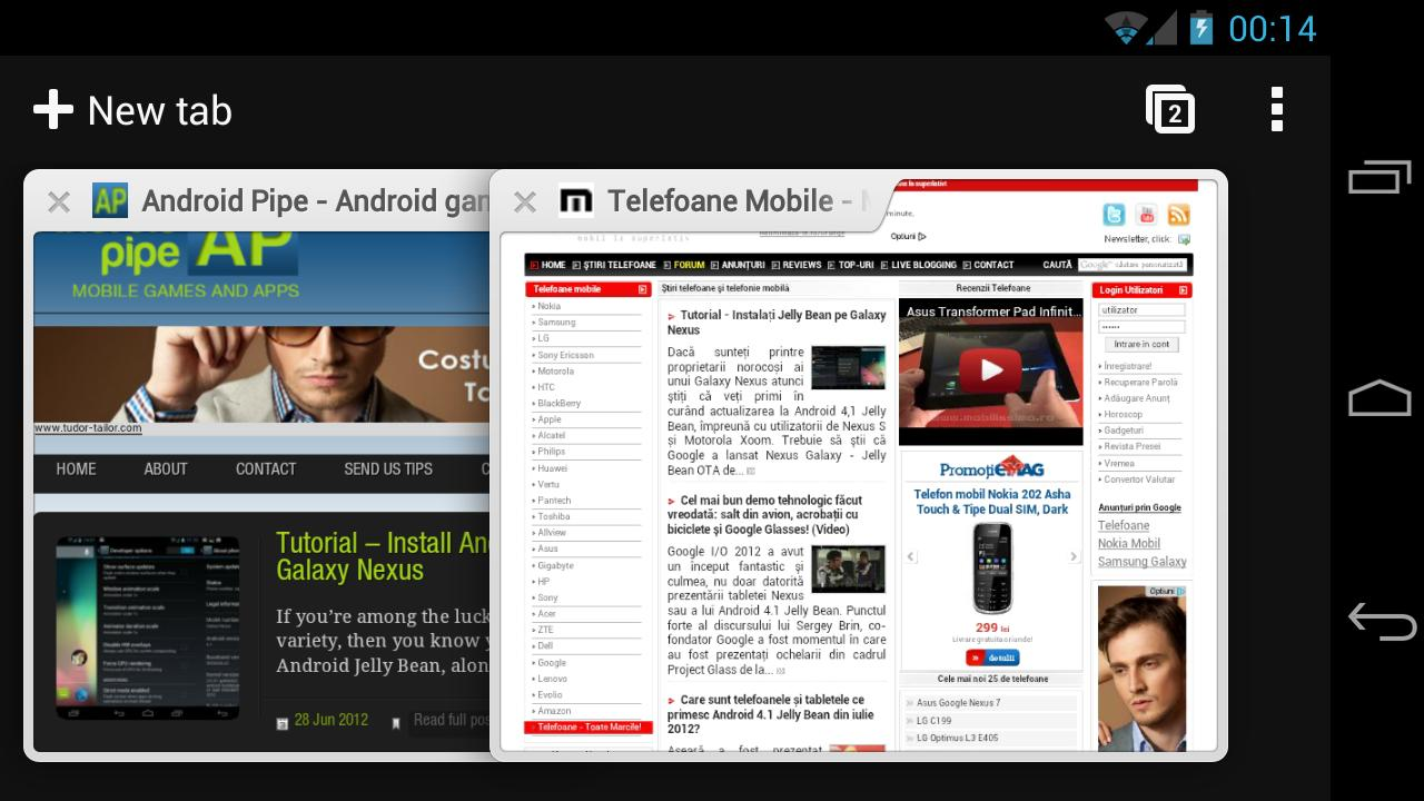 Chrome pentru Android iese din faza beta