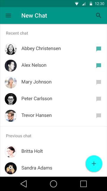Iată interfața lui Android L, viitorul release al platormei Google: un UI plat, cu noi nuanțe de culori și elemente de design