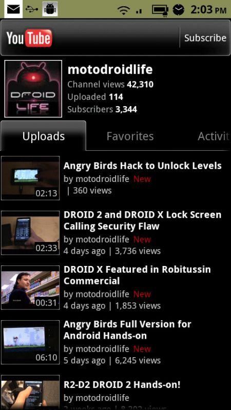 Bunatati pentru utilizatorii Android: dupa Winamp, acum si o noua aplicatie YouTube