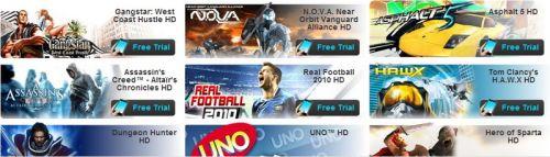 Testeaza jocurile HD de la Gameloft pe telefonul tau Android, inainte de a le cumpara (Video)