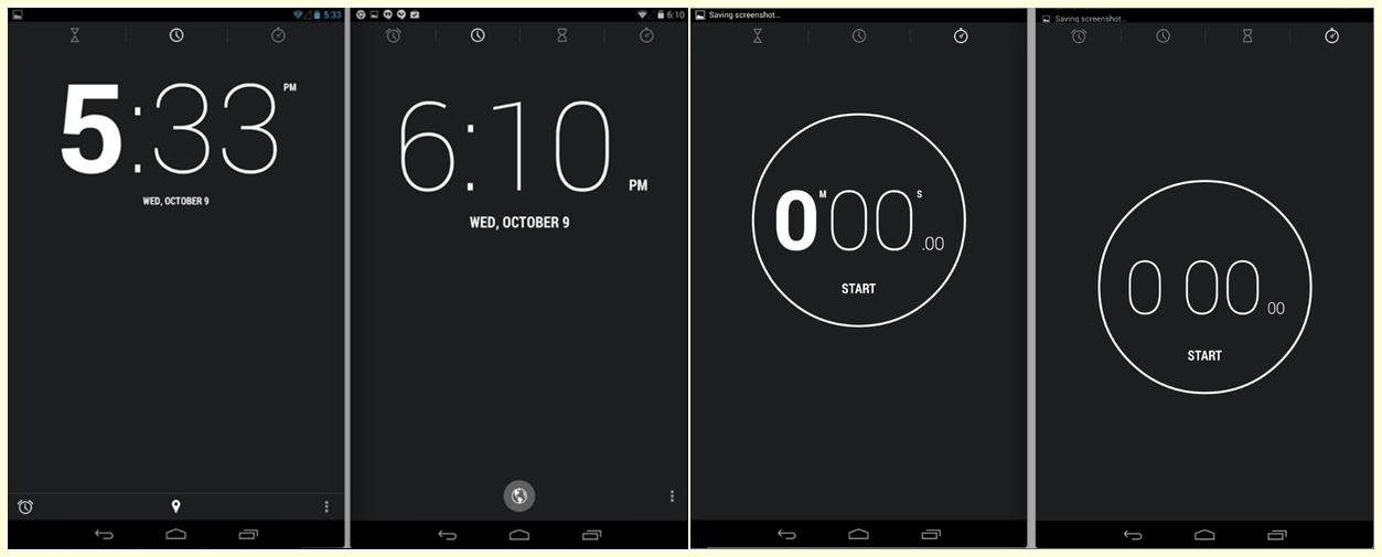 Noi capturi de ecran Android 4.4 KitKat ne prezintă detaliat câteva funcții
