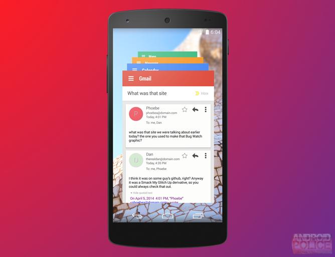 Android 4.5 Lollipop și Project Hera Își fac apariția În primele imagini; Iată conceptul din spatele lor!