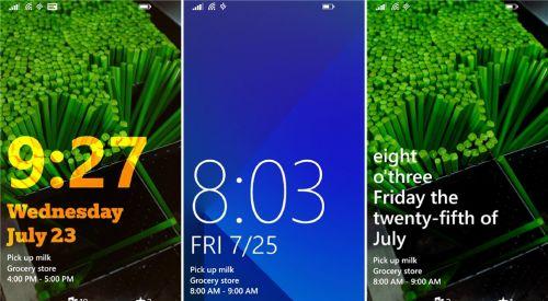 Aplicația Live Lock Screen Beta disponibilă acum pentru terminalele Windows Phone 8.1