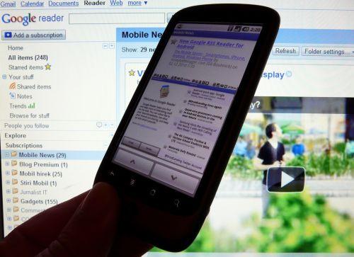 Google Reader Android