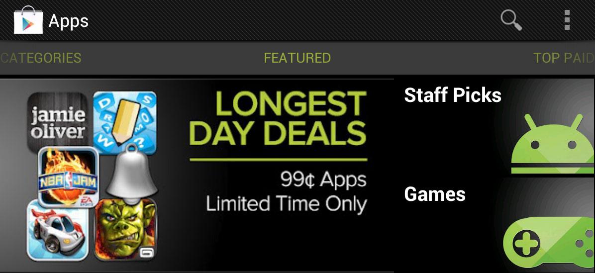 Longest Day Deals
