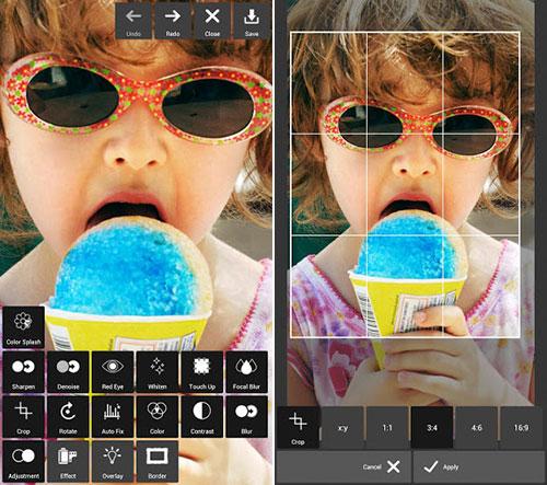 Pixlr Express review: cea mai bună aplicație foto de pe Android În 2013 (Video)