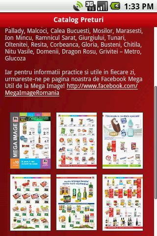Mega Image aplicație Android