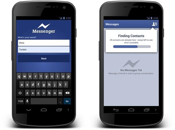 Aplicaţia Facebook Messenger va putea fi utilizată de cei care nu deţin un cont la reţeaua de socializare