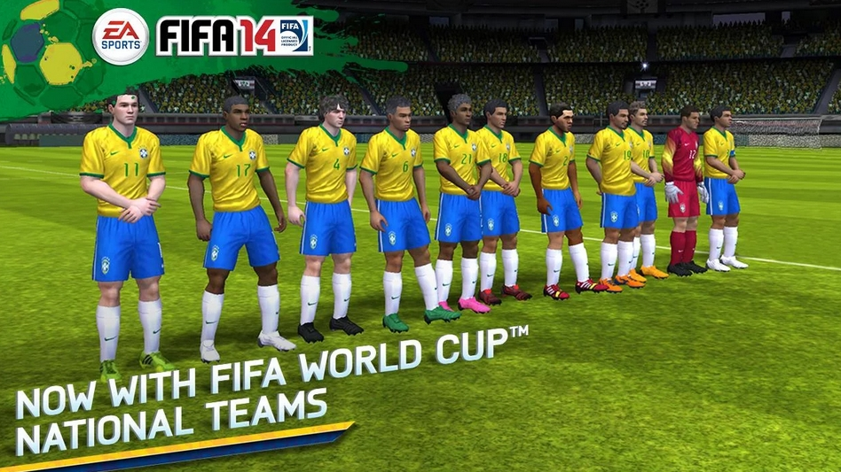 3. FIFA 14 - iOS / Android / Windows Phone