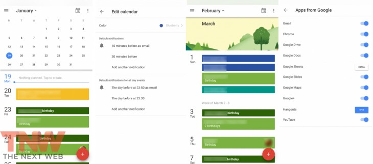 Google Calendar va sosi pe iOS În curând, cu tot cu Material Design
