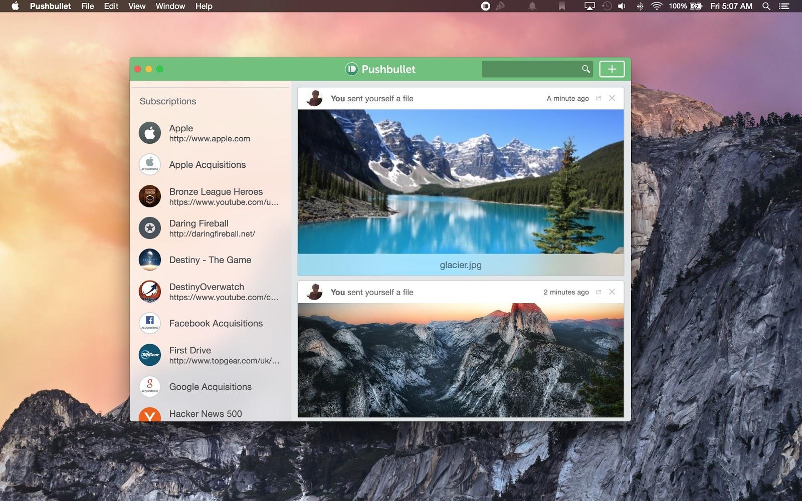 Pushbullet disponibil acum pe Mac, iOS şi primeşte şi suport pentru tandemul Safari-aplicatie Android
