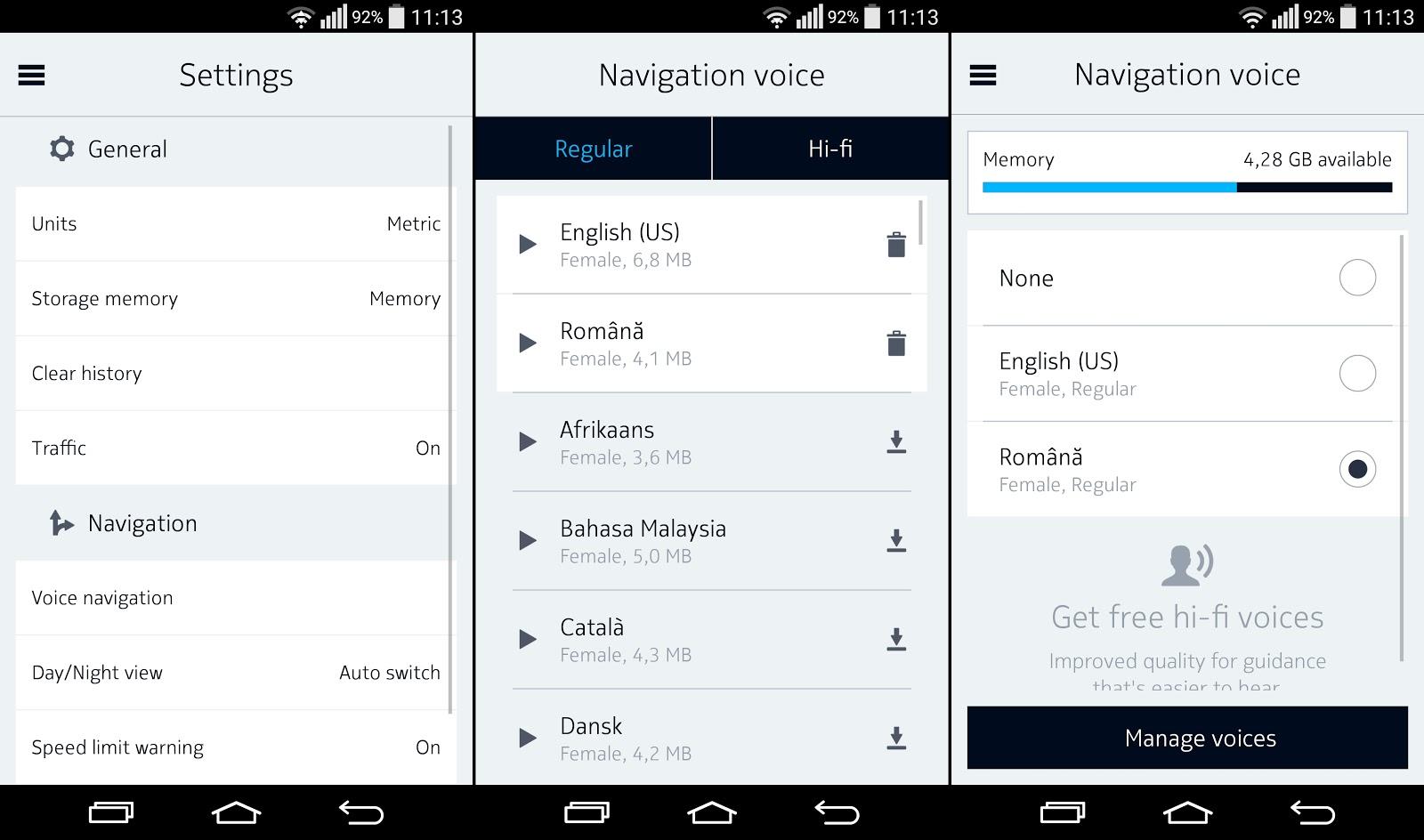 Aplicația Here Maps Beta pentru Android, primește navigare vocală În limba română