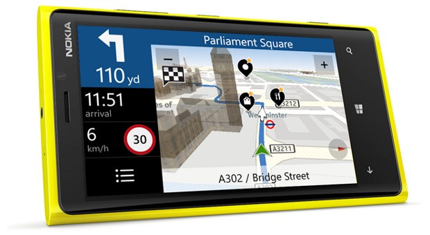 Nokia Drive +  навигация для Lumia.