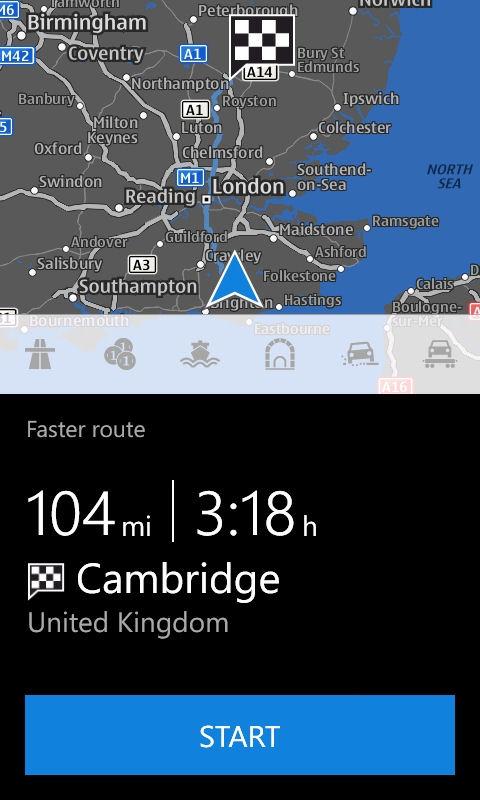 Nokia Drive disponibil gratuit pentru toți utilizatorii Windows Phone 8