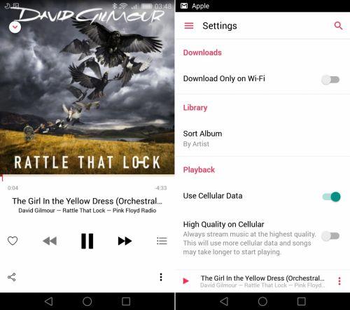 Apple Music în varianta beta este acum disponibil în magazinul de aplicații Google Play