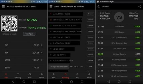 Aplicația benchmark AnTuTu 6.0 în versiunea Beta 2 este acum disponibilă spre descărcare