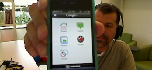 Google+ pe iPhone