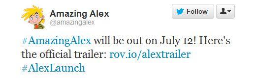 Noul hit de la Rovio Amazing Alex se lansează mâine, pe 12 iulie! Iată trailerul de lansare! (Video)