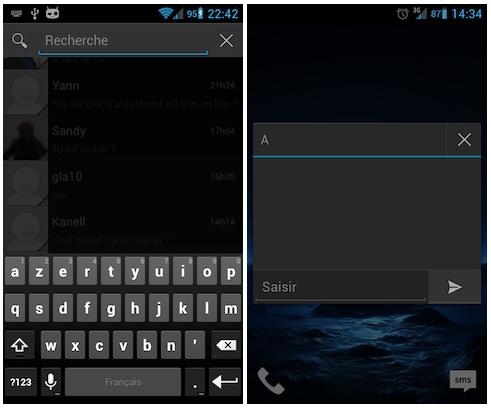Iată una dintre cele mai atractive variante pentru aplicația de mesagerie Android (ICS+ - Gratuit)