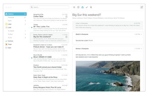 Dropbox lansează Mailbox pentru Android cu Auto Swipe, vine În curând și Mailbox pentru desktop
