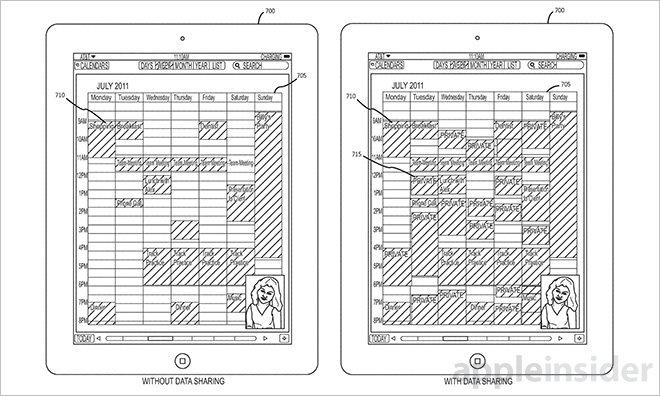 Apple brevetează o tehnologie ce permite partajarea datelor din aplicatie şi colaborarea via Facetime