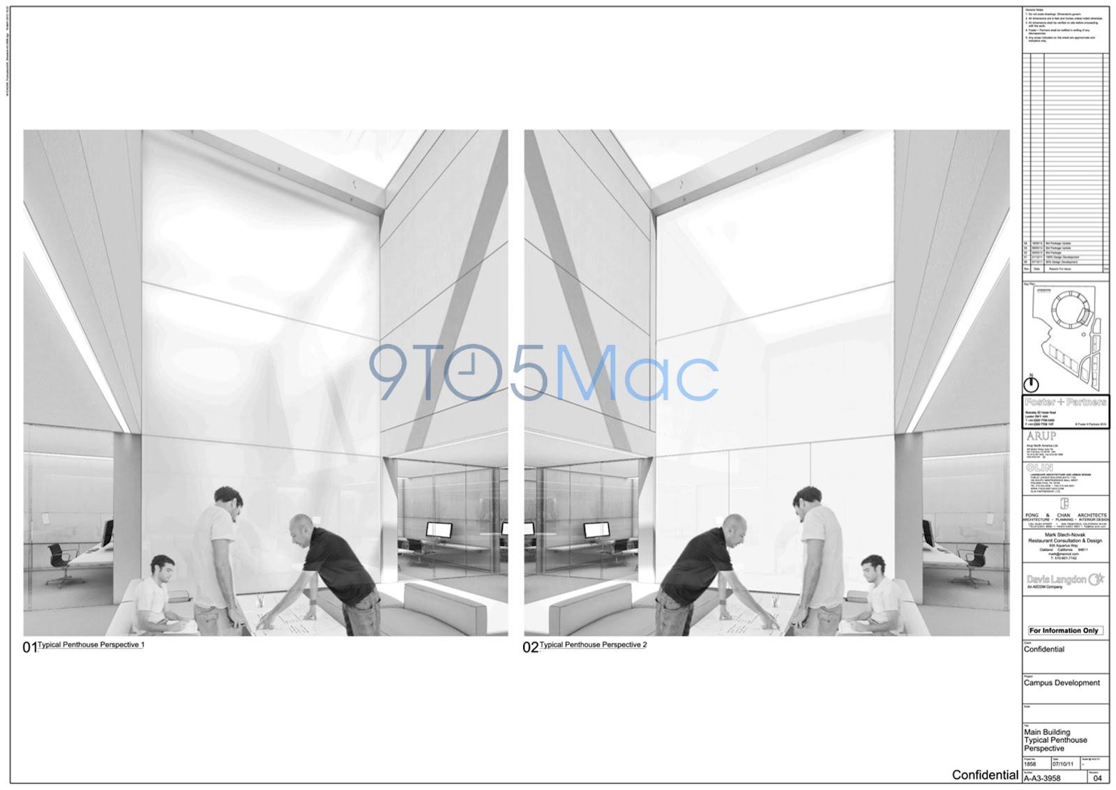 Noi imagini cu viitorul Campus Apple prezintă aspecte fantastice: ziduri de sticlă, un look SF