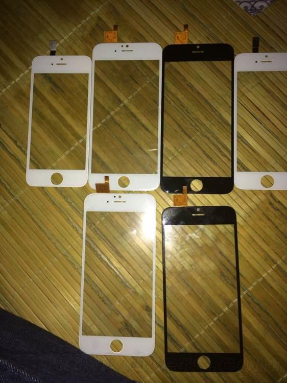 Noi fotografii cu panourile frontale ale lui iPhone 6 ajung pe web; de această dată vin cu digitizer