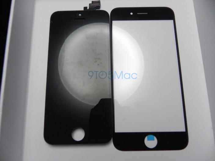 iPhone 6 comparat Într-o serie de fotografii cu display-ul de pe iPhone 5