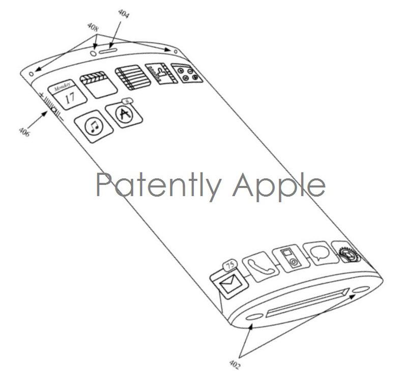 Apple obține un brevet pentru un iPhone transparent ce dispune de un display curbat edge-to-edge