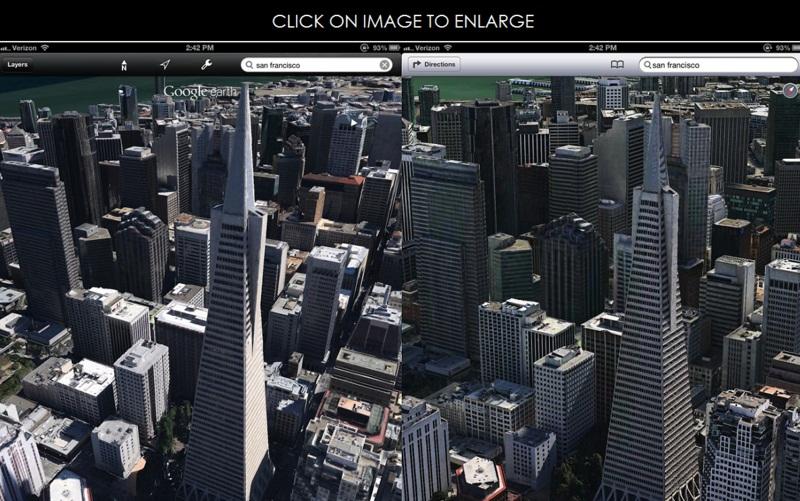 Apple primeşte un brevet pentru hărţi cu vizualizare interactivă 3D