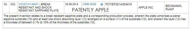 Apple a brevetat un strat protector din safir pentru viitoarele iDevice-uri, care le crește rezistența