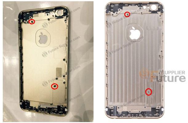 iPhone 6s Plus are parte de o scăpare, care ne prezintă carcasa sa din aluminiu, cu mici modificări faţă de modelul actual