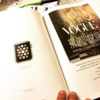 Apple Watch primeşte un articol de 2 pagini în Vogue Paris, o gigantică reclama de 12 pagini în Vogue America