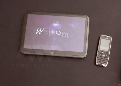 Tabletul Apple scapa pe web, primele imagini reale?