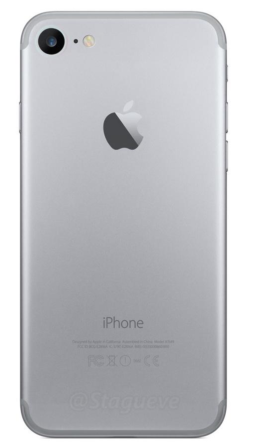 Carcasa lui iPhone 7 primește o randare ce dezvăluie o abordare diferită pentru acele dungi inestetice destinate antenelor
