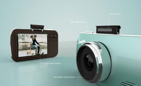 Samsung ia lecții de la Vespa! Iată un concept de cameră care ar putea deveni un cameraphone arătos