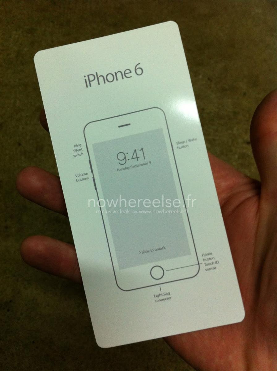 Data de lansare a lui iPhone 6 confirmată de manualul său? 9 septembrie apare pe ecran!
