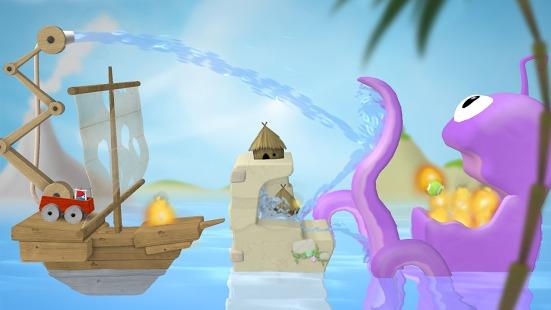 Sprinkle Islands review: un puzzle pe bază de fizică a apei testat pe HTC One Mini (Video)